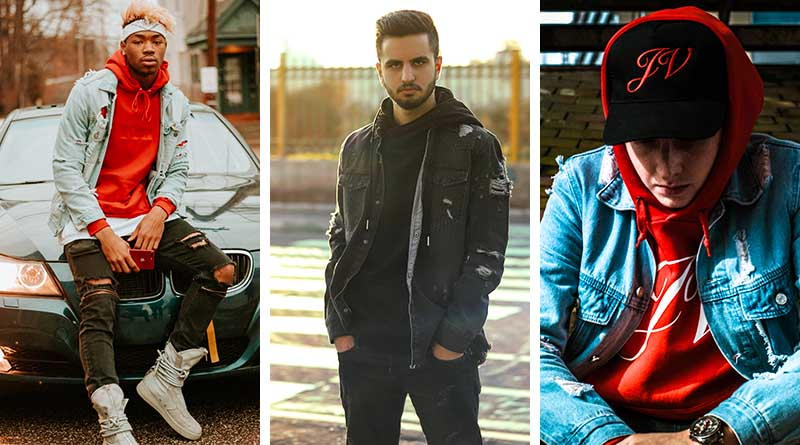 How To Wear A Hoodie Under a Jacket