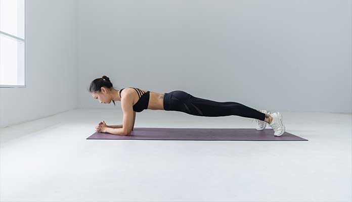 floor exercises for abs