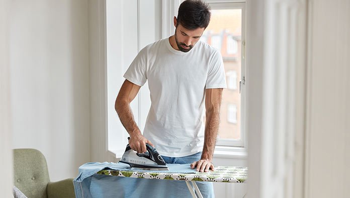 how to keep linen from wrinkling